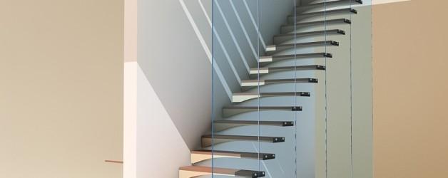 Лестницы для дома — «Крыло чайки»