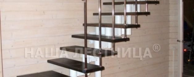 Г-образная лестница №7