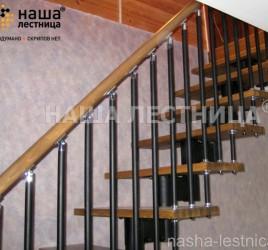 Г-образная лестница №8
