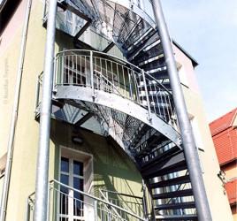 Наружная лестница, Айзенберг
