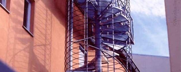 Наружная лестница, Вихтах