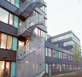 Наружная лестница, Гамбург