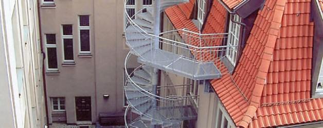 Наружная лестница, Лейпциг 4