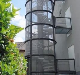 Наружная лестница, Розенберг