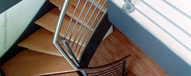 Металлическая лестница на тетивах N 4000, Ремштедт