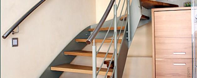 Металлическая лестница на тетивах N 4000, Нидерурзель 1