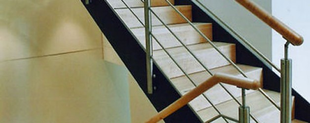 Металлическая лестница на тетивах N 4000, Веслинг
