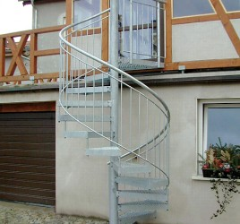 Винтовая лестница для улицы N 5000, Цойленрода