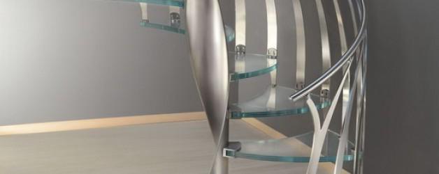Винтовая спиральная лестница