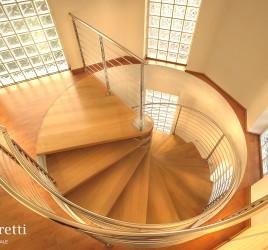 Деревянные винтовые лестницы