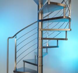 Металлические винтовые лестницы