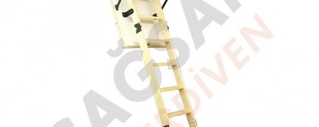 Деревянные складные лестницы для чердака