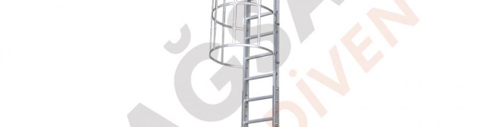 Настенные эвакуационные лестницы