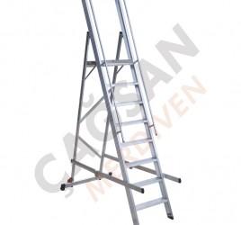 Складные лестницы с платформой