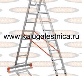 Двухсекционная лестница 2×9 Премьер