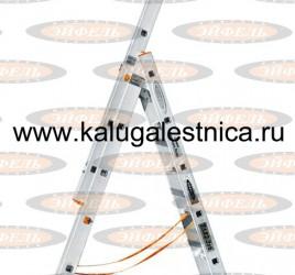 Трехсекционная лестница индустриального ресурса Классик 3х6
