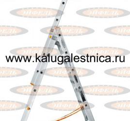 Трехсекционная лестница индустриального ресурса Классик 3х7