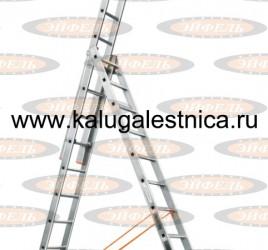 Лестница трехсекционная универсальная «Ювелир» 3х12