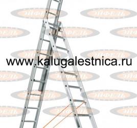 Лестница трехсекционная универсальная Ювелир Плюс 3х12