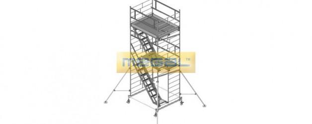 Вышка модульная алюминиевая ВМА 1400 Л