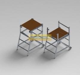 Столик-лестница СЛ 0,8 х 0,57