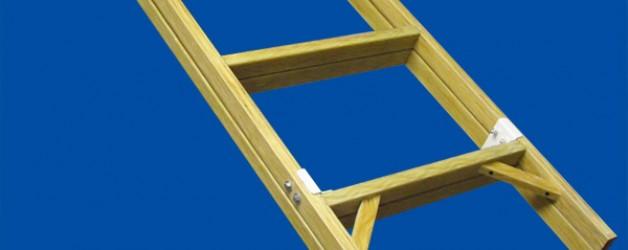 Лестницы стеклопластиковые диэлектрические приставные раздвижные ЛСПР «ЛУЧ»