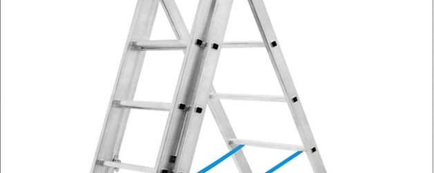 Алюминиевая лестница трёхсекционная «Луч»