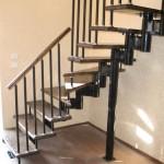 Г-образная лестница №12
