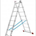 Лестница алюминиевая двухсекционная «Луч»
