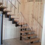 Г-образная лестница №4