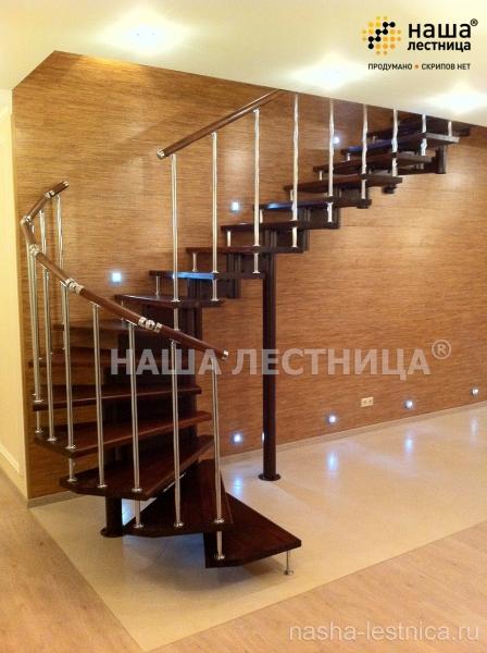 П-образная лестница №6 - Лестницы | Элитные лестницы