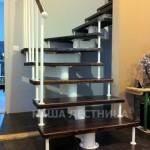 Г-образная лестница №6