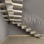 Модульная деревянная лестница