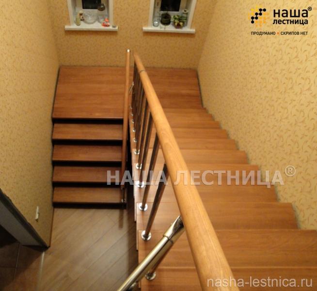 П-образная лестница №7 - Лестницы | Элитные лестницы