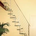 Стеклянная лестница «по-флотски»