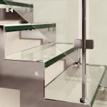 Лестница REXAL GLASS