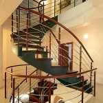 Классическая металлическая лестница