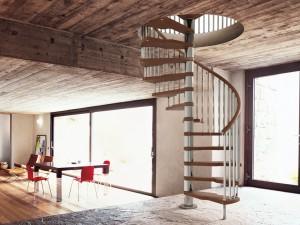 Винтовые лестницы для дома