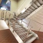 Лестницы исключительно из стали