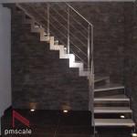 Лестница SQUARE inox