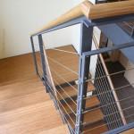 Металлическая лестница на тетивах N 4000, Грайц 2