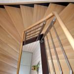 Металлическая лестница на тетивах N 4000, Лойбнитц