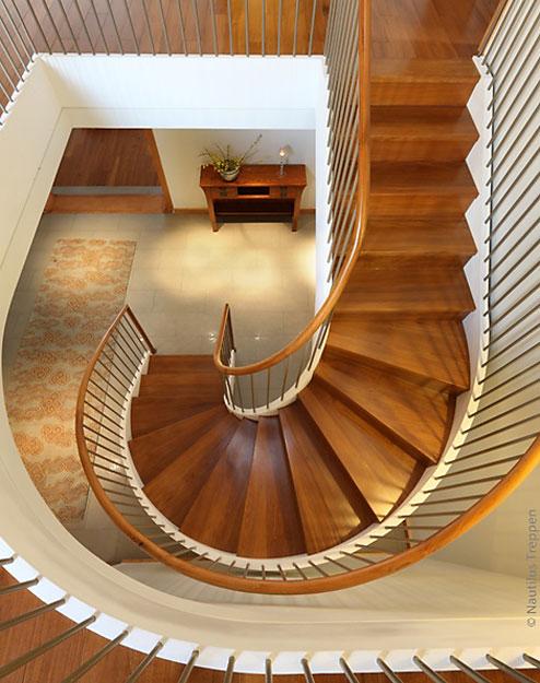 круговая лестница на второй этаж Если застройщик или