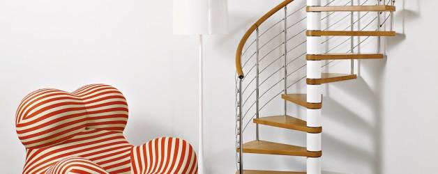Винтовые лестницы фабрики FONTANOT