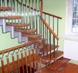Г-образная лестница №15