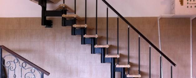 Г-образная лестница №16