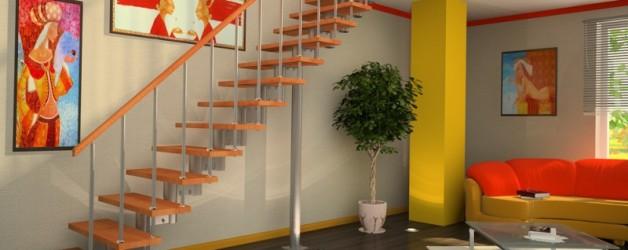 Маршевая лестница №1