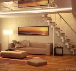 Маршевая лестница №2