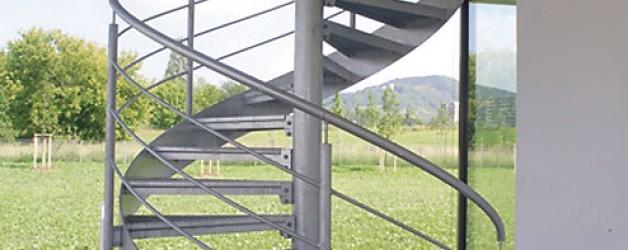 Наружная лестница, Йена