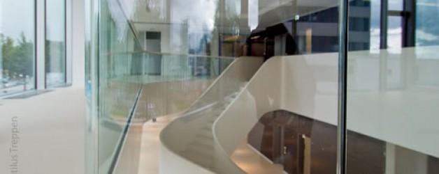 Прямая лестница, Гамбург 1